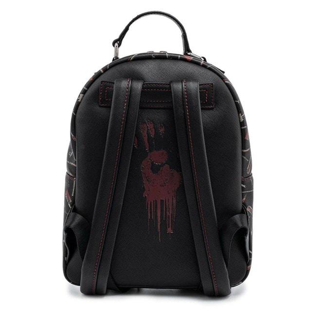 Friday the 13th: Jason Mask Mini Loungefly Backback - 7