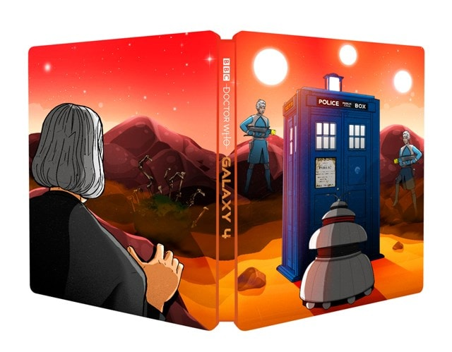 Doctor Who: Galaxy 4 Limited Edition Steelbook - 1