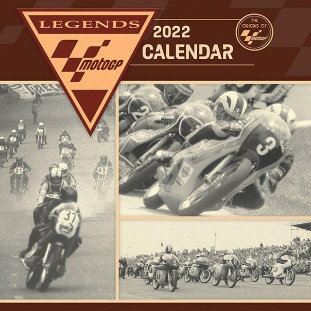 Origins of Moto GP: Square 2022 Calendar - 1