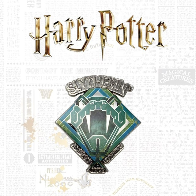 Slytherin: Harry Potter Limited Edition Pin Badge - 1