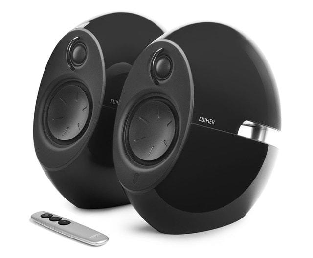 Edifier E25HD Gloss Black Bluetooth Speaker System - 1