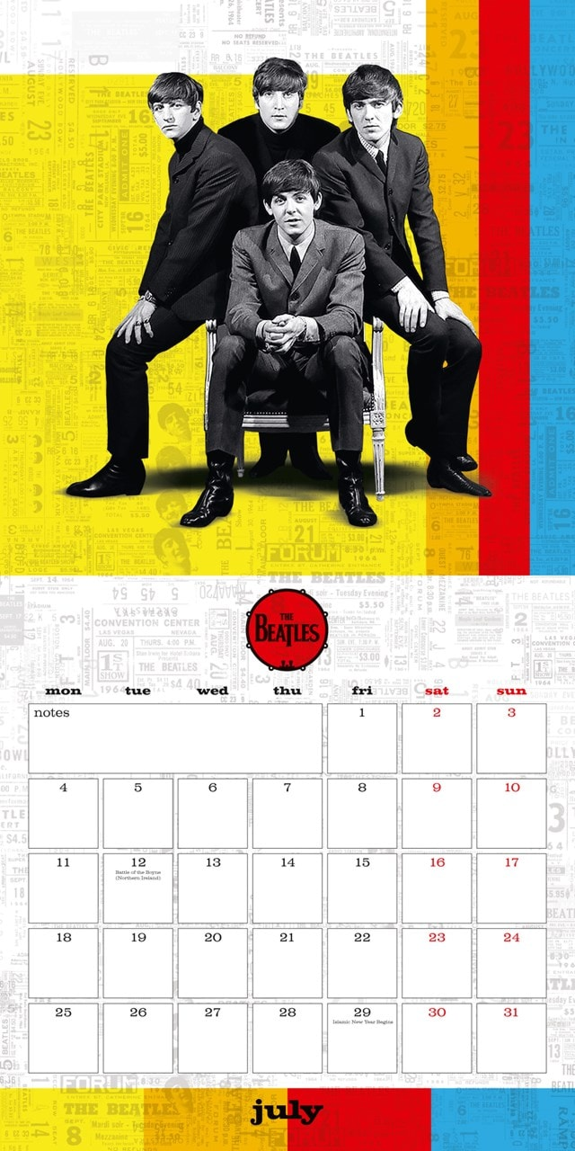 The Beatles Square 2022 Calendar - 4