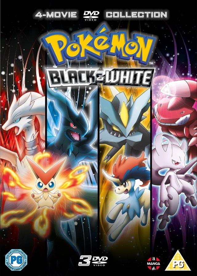 Pokemon: The Movie Collection 14-16 - Black  & White - 1