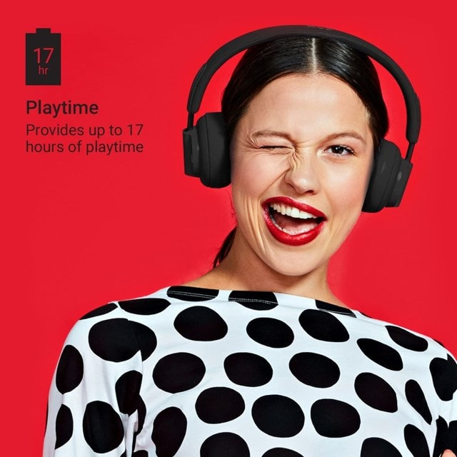 Jam Out There Black Active Noise Cancelling Bluetooth Headphones - 4