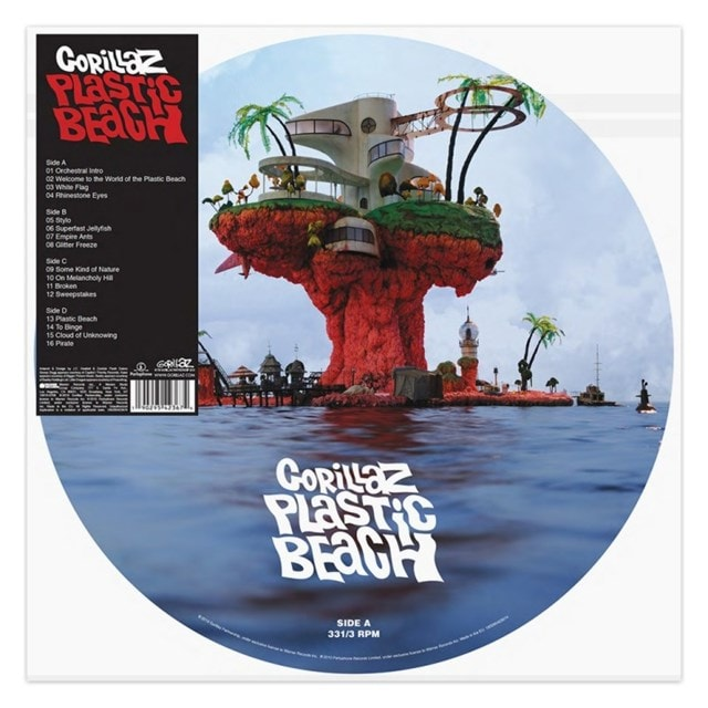 Plastic Beach - Limited Edition Picture Disc - 1