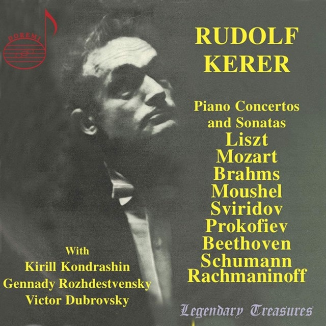 Rudolf Kerer: Piano Concertos and Sonatas - 1