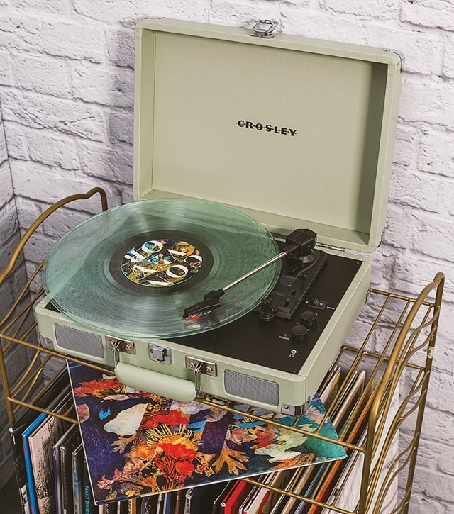 Crosley Cruiser Deluxe Mint Turntable - 3