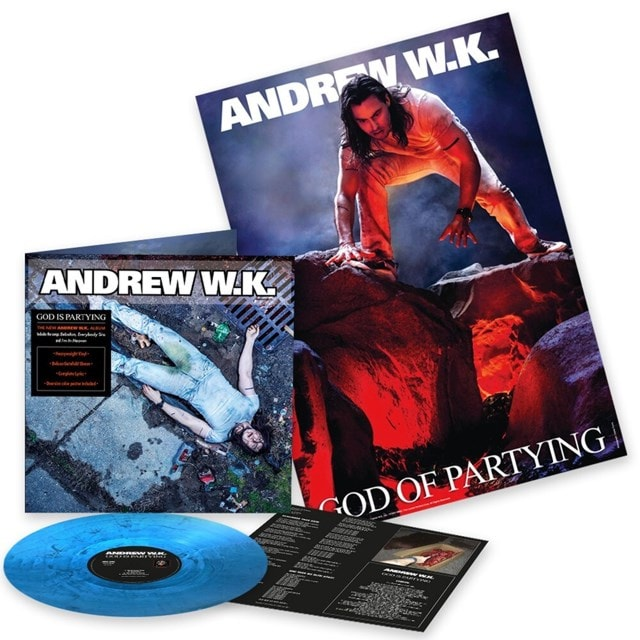 God Is Partying (hmv Exclusive) Marbled Blue Vinyl - 1