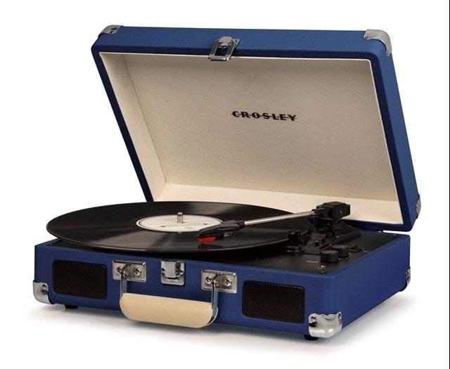 Crosley Cruiser Deluxe Blue Turntable - 2
