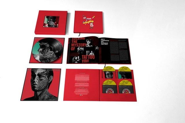 Tattoo You: 40th Anniversary Remastered Super Deluxe 4CD + 1LP Boxset - 1