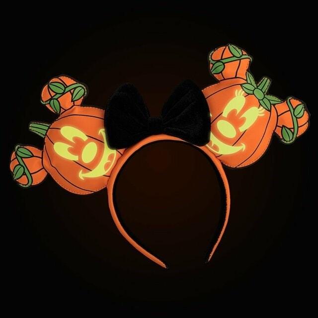 Disney: Mick-O-Lantern Loungefly Headband - 2