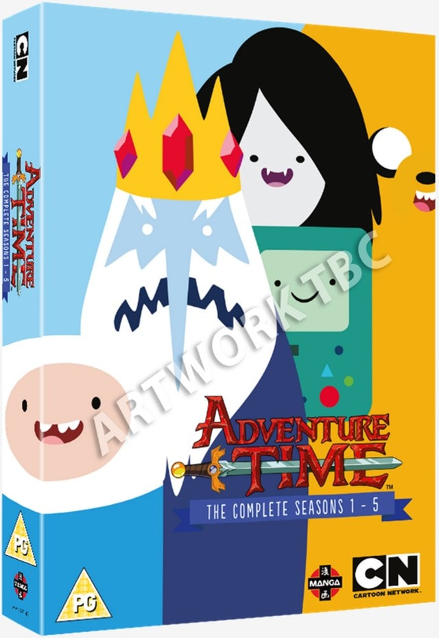 Adventure Time: The Complete Seasons 1-5 - 1