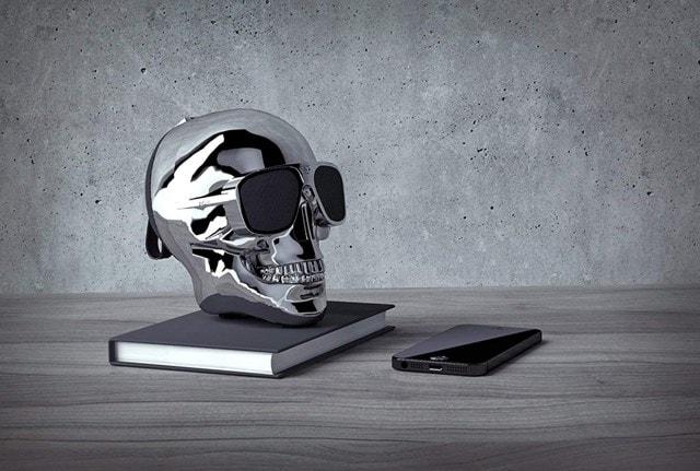 Jarre AeroSkull XS+ Chrome Silver Bluetooth Speaker - 2