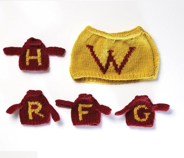 Weasley Tea & Egg Cosy: Harry Potter Knit Kit - 4