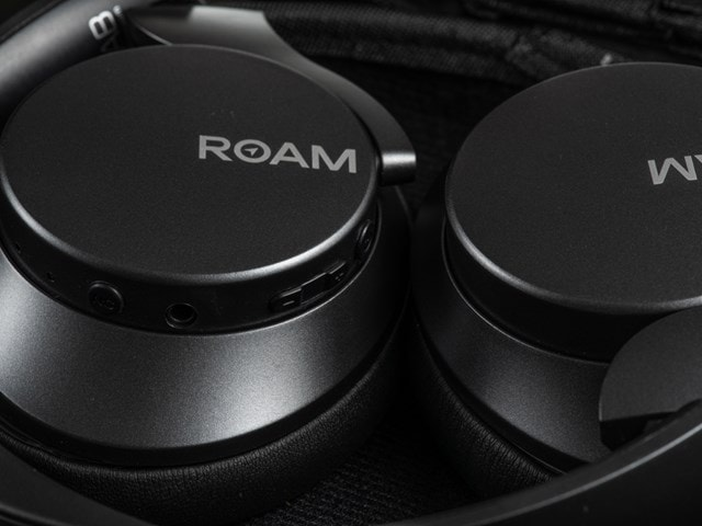 Roam R-Lab Gunmetal Grey Bluetooth Active Noise Cancelling Headphones - 2