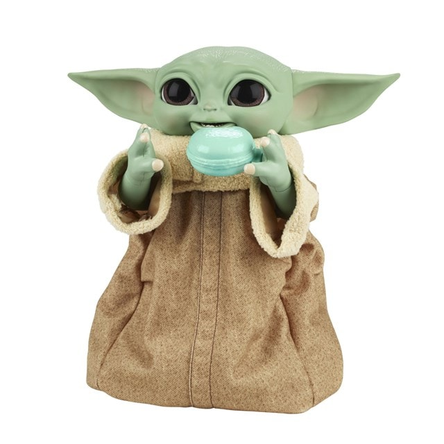 Star Wars Galactic Snackin' Grogu Integrated Play Soft Toy - 7