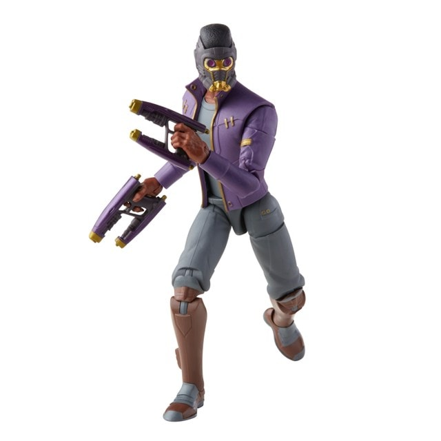 T'Challa Star-Lord: Hasbro Marvel Legends Series Action Figure - 9