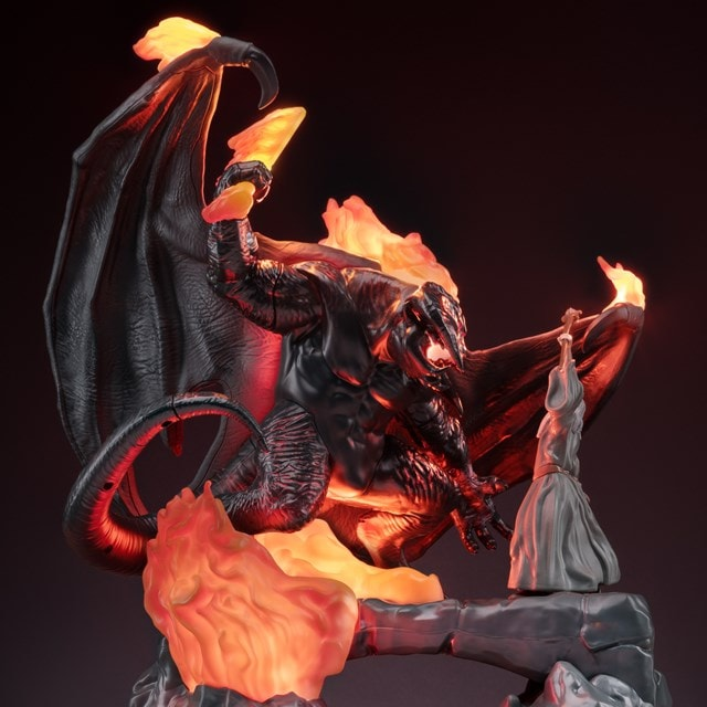 The Lord of the Rings: Balrog vs Gandalf Light - 2