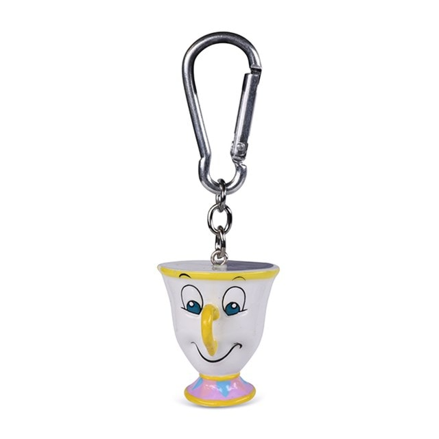 Chip: Beauty And The Beast 3D Keychain - 1