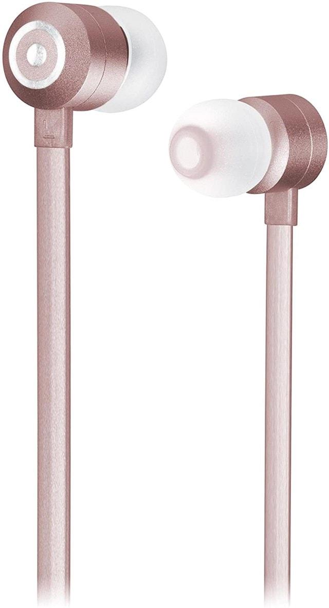 Kitsound Ribbons Rose Gold Bluetooth Earphones - 2
