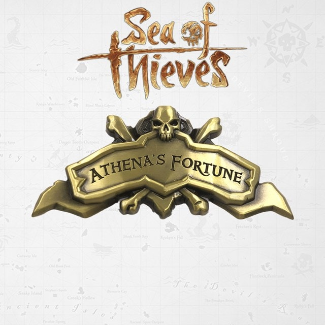 Sea Of Thieves: Athena's Fortune Ship Plaque: Antique Collectible (online only) - 1