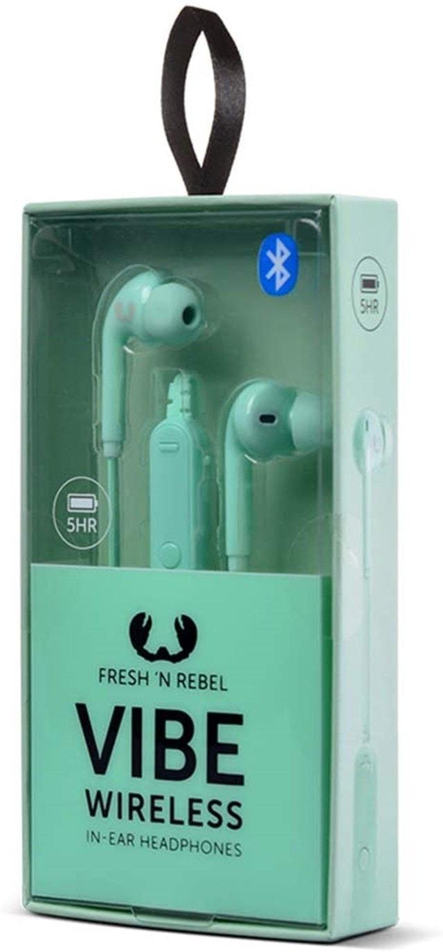 Fresh N Rebel Vibe Wireless Peppermint Bluetooth Earphones - 6