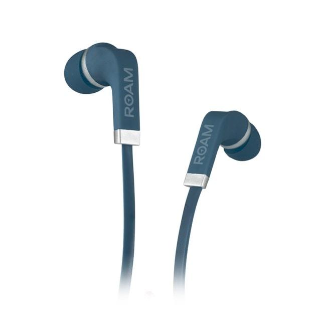 Roam Colours Midnight Blue Eearphones w/Mic (hmv Exclusive) - 1