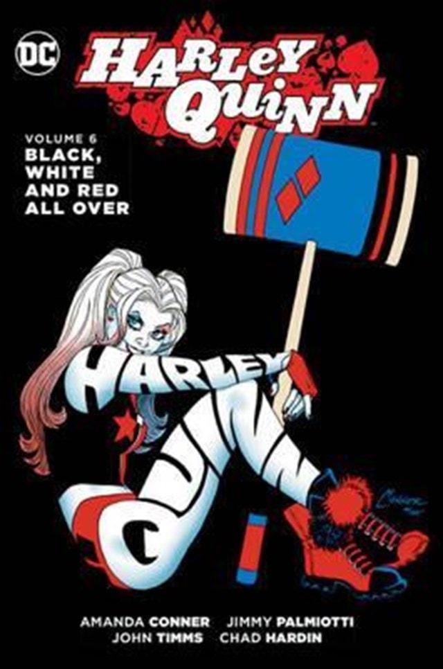 Harley Quinn Vol 6: Black White Red Allover - 1
