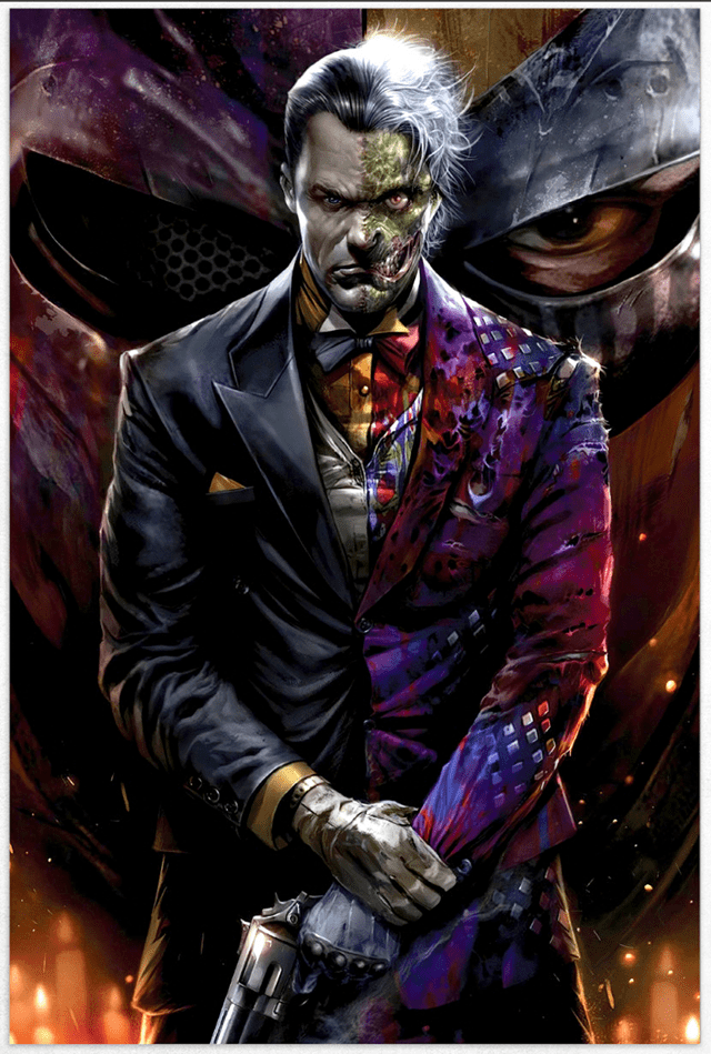 Two-Face Limited Edition Fine Art Print - 1
