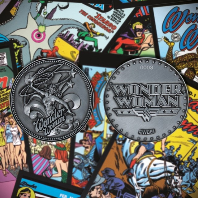 Wonder Woman: DC Comics Limited Edition Collectible Coin - 1