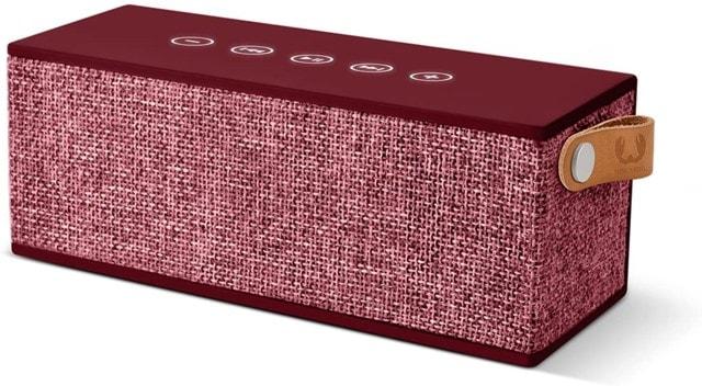 Fresh N Rebel Rockbox Brick Ruby Fabric Edition Bluetooth Speaker - 1