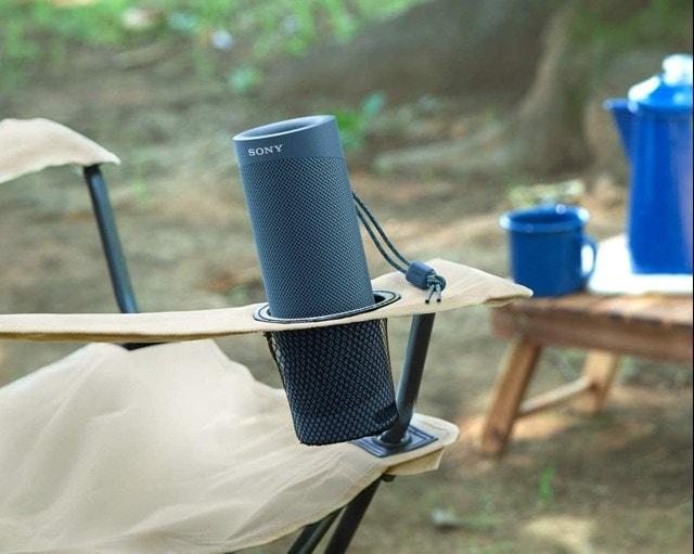 Sony SRSXB23 Blue Bluetooth Speaker - 5