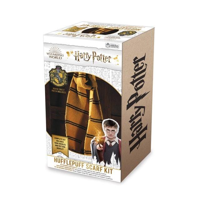 Hufflepuff House Scarf: Harry Potter Knit Kit - 5