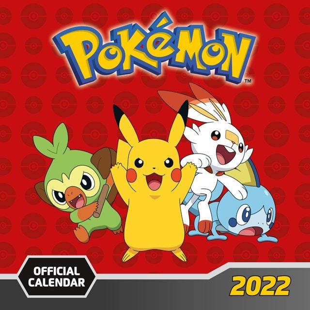 Pokemon Square 2022 Calendar - 1