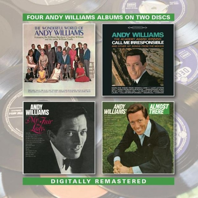 Four Andy Williams Albums: Wonderful World Of/Call Me Irresponsible/New Fair Lady/Almost... - 1