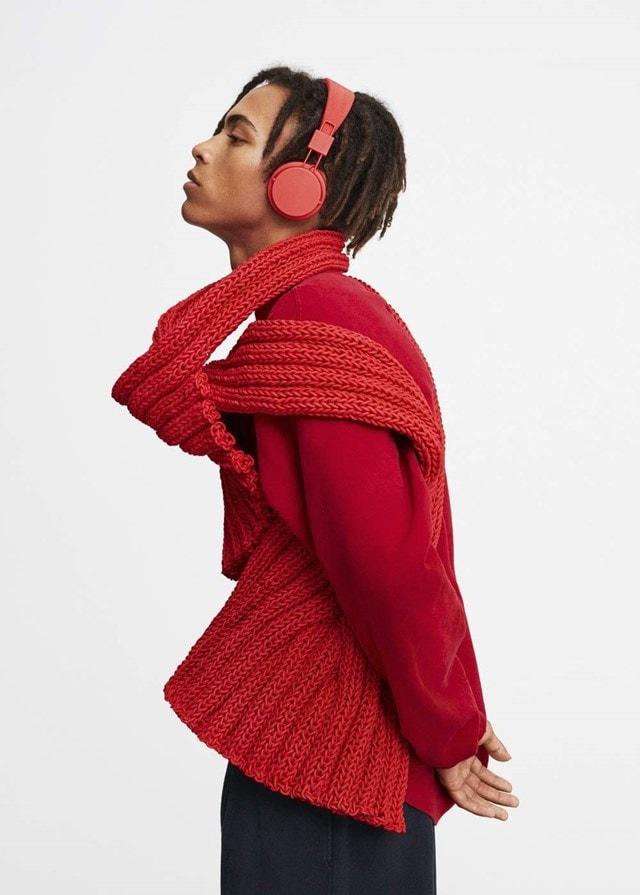 Urbanears Plattan II Tomato Red Bluetooth Headphones - 4