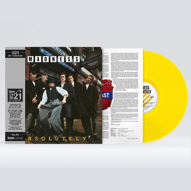 Absolutely (hmv Exclusive) the 1921 Centenary Edition Yellow Vinyl - 1