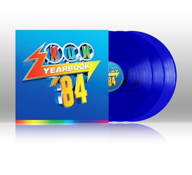 NOW Yearbook 1984 - Limited Edition Blue Vinyl - 1