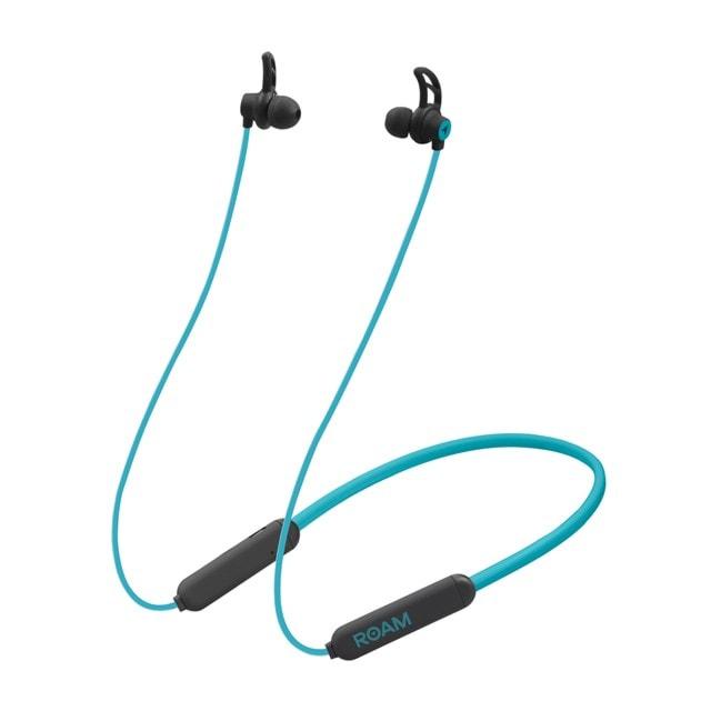Roam Sports Pro Teal Bluetooth Earphones - 1