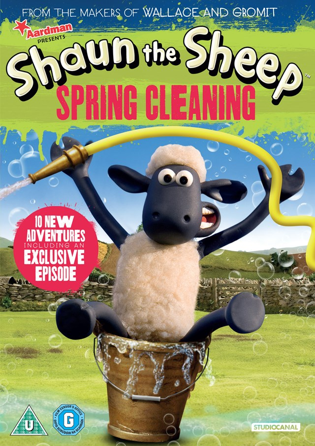 Shaun the Sheep: Spring Cleaning - 1