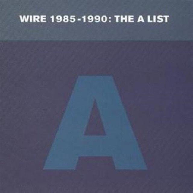 1985-1990: The a List - 1