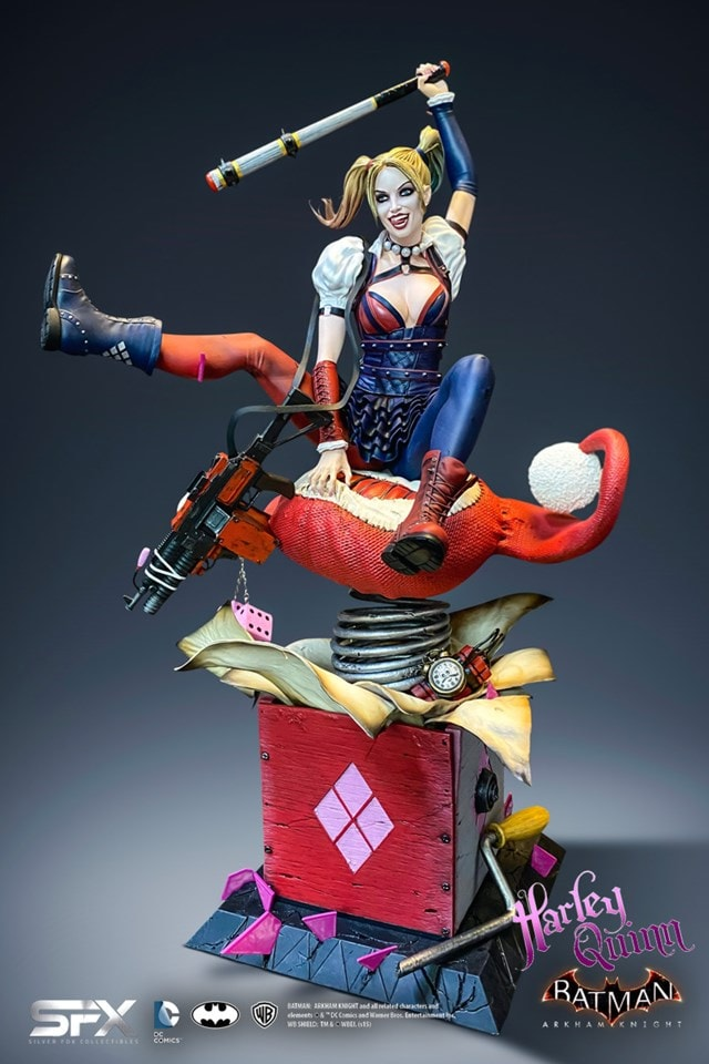 Harley Quinn: Arkham Knight Collectible Statue - 1