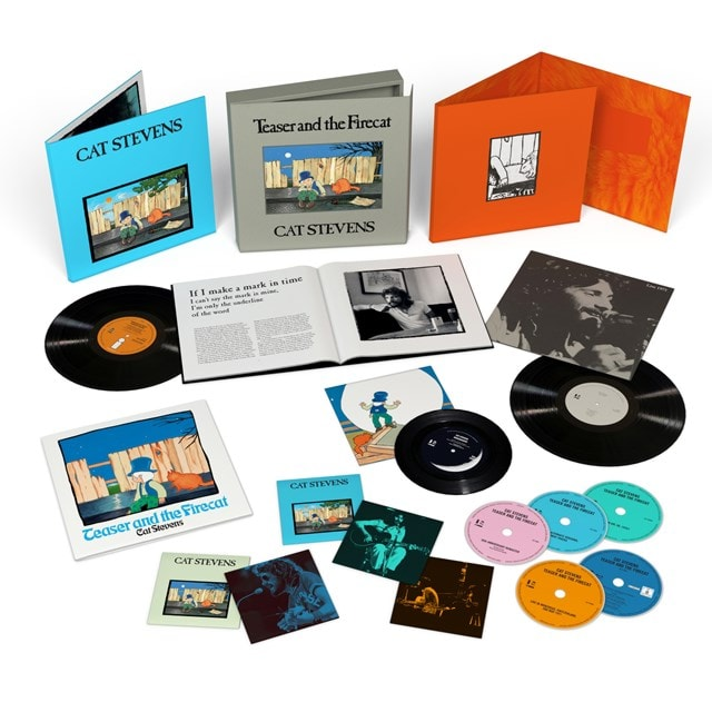 """Teaser and the Firecat: 50th Anniversary - Super Deluxe 2LP / 4CD / Blu-ray / 7"""" - 1"""