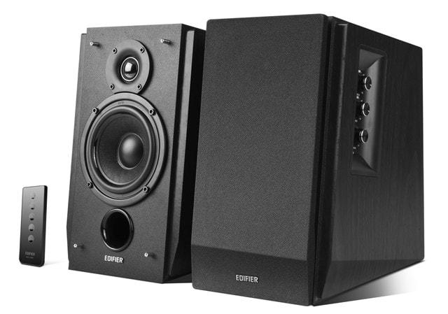 Edifier R1700BT Black Active Bluetooth Bookshelf Speakers - 1