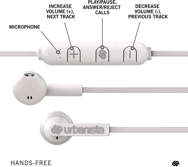 Urbanista Berlin Fluffy Cloud (White) Bluetooth Earphones - 3
