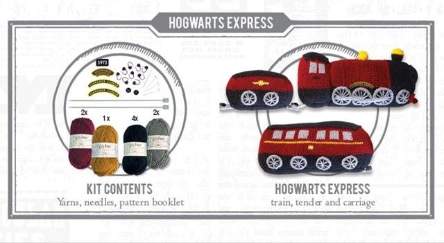 Hogwarts Express Draught Excluder: Harry Potter Knit Kit - 4