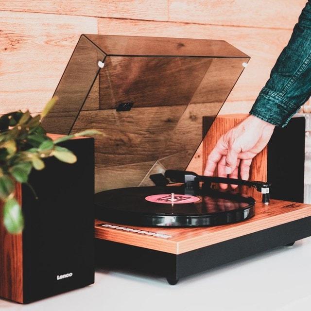 Lenco LS-300 Wood turntable and Speakers - 7