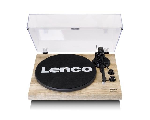 Lenco LBT-188 Pine Bluetooth Turntable - 1