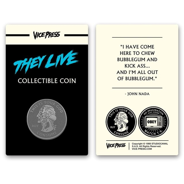 They Live: Collector's Coin - 1