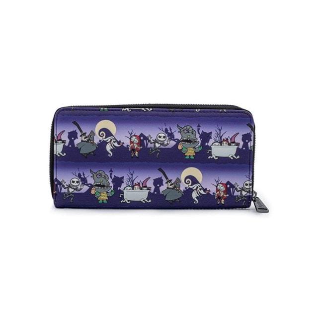 Nightmare Before Christmas: Halloween Zip Around Loungefly Wallet - 2